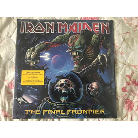 Iron Maiden The Final Frontier Vinil Lp Duplo Picture - Novo