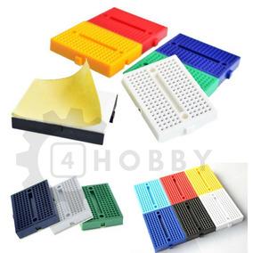 Mini Protoboard 170 Furos Diversas Cores *940101