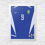 Camisa Brasil Azul 9 no Mercado Livre Brasil bfe0041a555dc