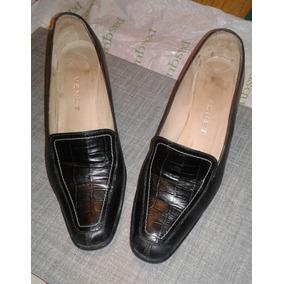 d9e31f8453b Zapatos Clasicos De Venet En Cuero Negro - Calzados para Mujer en ...