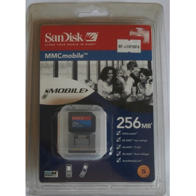 Memoria Sandisk 256 Mb Mmcmobile Nuevo En Su Blister