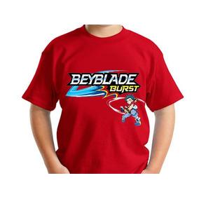 Playera Beyblade Burst 5 Dif Evolution Launch Juego De Serie