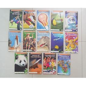 Lote Coleção De Olho No Mundo - Revista Recreio 14 Ed. Abril