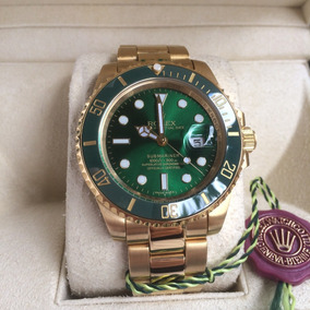 d663f301ad4 Reloj Rolex Submariner Oro Automatico Eta Con Caja.