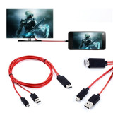 Cable Adaptador Mhl Hd Tv Hdmi Para Samsung S2 S3 S4 S5note2