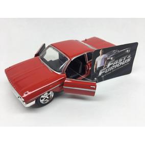 Miniatura Chevy Impala 1961 Velozes E Furiosos