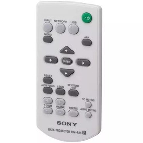 Controle Remoto Para Projetor Sony Rm-pj6 Vpl Es3, Es4, Es5,