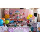 Decoração De Festa Infantil Tema Peppa Pig ( Locação)
