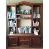 Práctico Librero Rústico