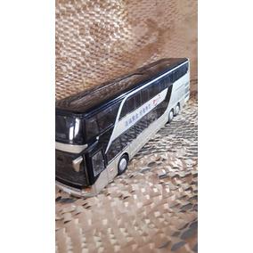 Miniatura Ônibus De Viagem Com Luzes * 26 Cm* Cod. 00280