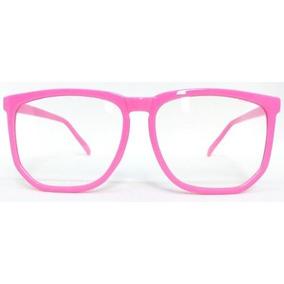 f9aee29305db6 Oculos De Nerd Rosa - Óculos no Mercado Livre Brasil