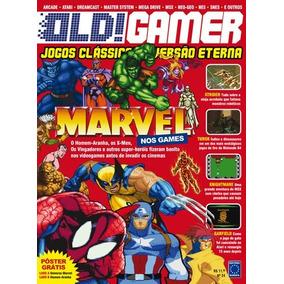 Revista Old! Gamer Nº24 / Marvel / Excelente Estado!