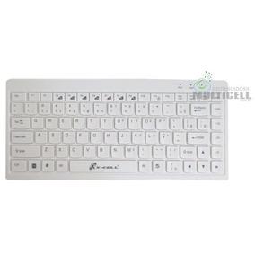 Teclado Slim Usb Compativel Com Windows E Mac Os X-cell