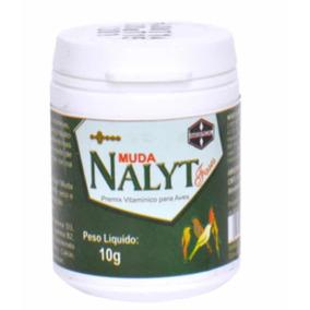 Nality Muda 10 G Premix Vitamínico P/ Pássaros Em Muda