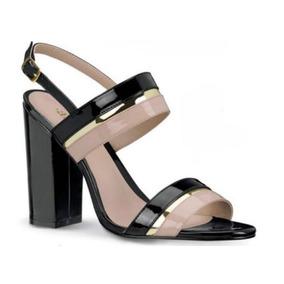 Zapatos Chatos Negros De Correa Tacon Wedge Mujer - Zapatos en ... 6b6ae340711d