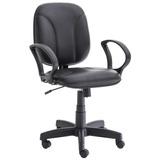 Cadeira Para Escritório Giratória Unimóvel Diretor - Preto