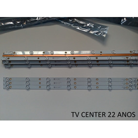 Kit C/3 Barras De Led Aoc Le32s5970 Novas