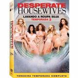 Box Desperate Housewives 3ª Temporada - 6 Dvds - Original