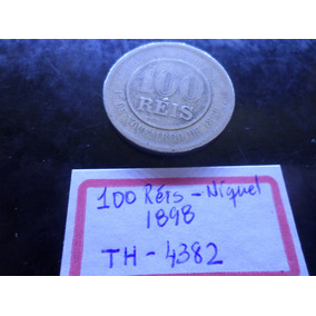 Moeda 100 Réis Ano 1898