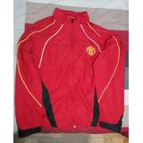Chaqueta Cortaviento Manchester United Original (talla L) 0ddcf1e1885f6