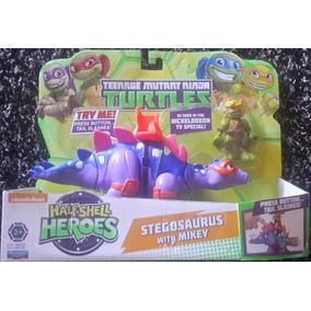 Juguete Para Niño Tortugas Ninja Stegosaurus