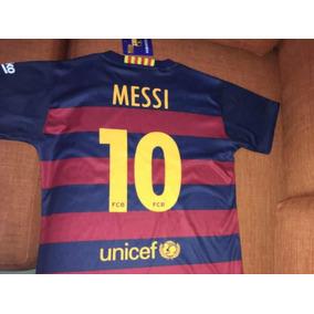 Playera Messi Barcelona Niño en Mercado Libre México f611548db13