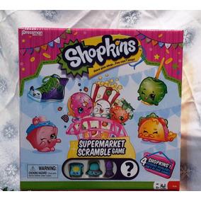 Juego De Mesa Shopkins Supermarket Scramble Game