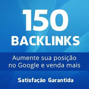 150 Backlinks Site Seo Google Rank Otimização + 16 Brindes