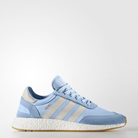 Tenis adidas Iniki Boost Runner Azul Hombre No. Bb2099