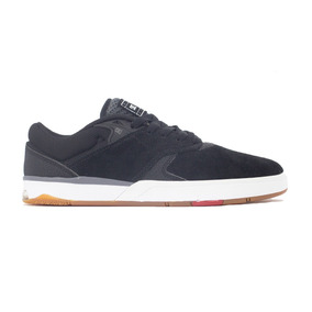 Tenis Dc Shoes Tiago S Imp Black/white/red Original Frete G