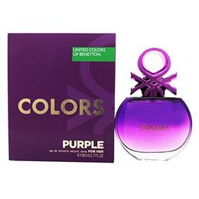 Benetton Colors Purple Perfume Mujer Edt 80ml Original