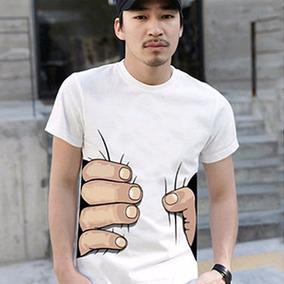 Playera Mano Gigante Camiseta Unisex Casual