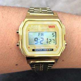 d888e8c8bbf Relogio Casio Databank Dourado - Relógios De Pulso em Cornélio ...