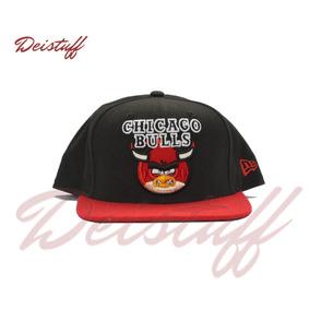 Gorra Chicago Bulls Roja Y Negra en Mercado Libre México 7406a93e0df