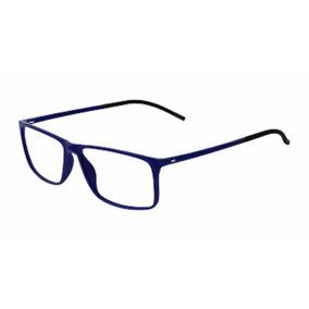 c5176f30e9962 Armação Silhouette Spx 2892 Azul Marinho Imperdível  )
