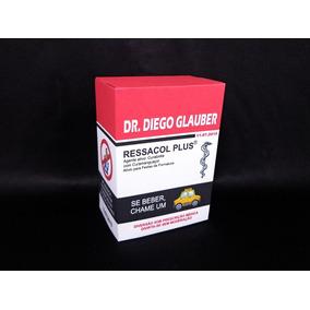30 Kit Ressaca Box Formatura Ressacol Vermelho