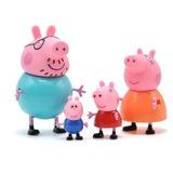 fe817d360 Miniaturas Família Peppa Pig George Papai Mamãe Pig