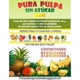Pulpa De Fruta Natural De 100g ,sin Conservantes Ni Quimicos