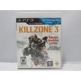 Killzone 3: Edicion America Latina - Ps3 ¡fisico-usado!