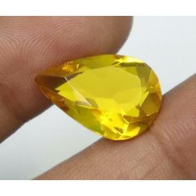Zafiro Amarillo 6.90 Quilates Piedra Sintetica