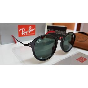 b181d1d8755c2 Óculos De Sol Ray Ban Round Fleck - Óculos De Sol no Mercado Livre ...