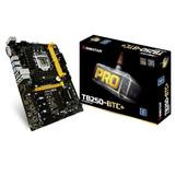 Kit Mineração Tb250-btc+ Com 8 Pci + Cpu G3900 + 4gb Ddr4