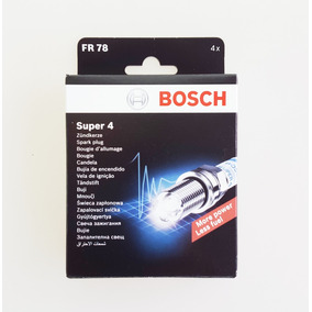 Juego De Cuatro Bujías Bosch Fr78 Super 4
