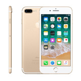 Iphone 7 Plus 128gb Dourado Gold Anatel Lacrado Nota Fiscal