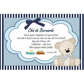 Convite Cecilia Convites De Chá De Bebê Em Santa Catarina No