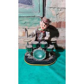 Cowboy Baterista Brinquedo Antigo Funcionando