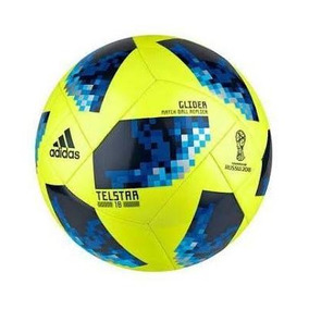 Balon Telstar adidas Glider N 5 World Cup Rusia Rojo Amaril dbc6222f01129