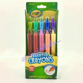 Pinceis/lápis De Banho Lavável Crayola C/ 10 Unidades