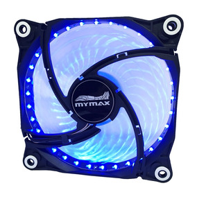 Cooler 120mm Fan Para Gabinete Pc Led Azul - Nfe