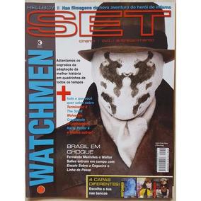 Revista Set 255 Cinema E Vídeo Watchmen Dc Hellboy 2